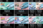 Spectrum Noir Aqua Marker Sets, Watercolor Based, Dual-Tipped, Artist Quality