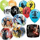Star Wars Balloons Party Decorations Yoda Storm Trooper Darth Vader Air Helium £2.69 GBP