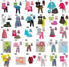 """Dollie and  Me Sz 12 & 18"""" Doll Matching outfit clothes or Pjs fit american girl"""