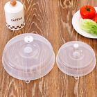 Microwave Cooking Plate Cover Food Dish Lid Ventilated Steam Vent For Kitchen