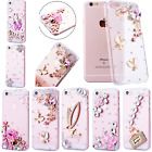 Cover Iphone X Case Crystal Clear Girls New Cute Bling Diamo