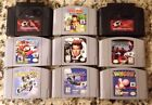 Nintendo 64 N64 Games You Pick Choose Your Own Starfox Goldeneye 007 Mario Golf $19.9 USD