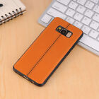 Shockproof  Soft PU Leather Back Cover Case Skin For Samsung Galaxy Phones 82C