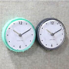 Waterproof Shower Bath Suction Clock Bathroom Mirror Wall Sucker Kitchen Decor