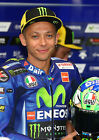 VALENTINO ROSSI 129 (MOVISTAR YAMAHA 2017 MOTO GP) MUGS AND PHOTO PRINTS