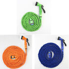 MTN Latex 25 to 200 Feet Expanding Flexible Garden Water Hose with Spray Nozzle