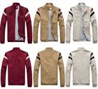 Men's Casual Cotton Jacket Out-coat Light and Comfortable Fashion Size S - 2XL
