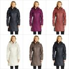 Columbia Women's Powder Pillow Hybrid Long Hooded Rain Winter Jacket Size XS-XL