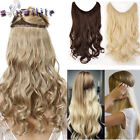Long 100% Real Natural as human Wire in Hair Extensions Secrect Easy Attach YL62