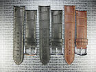 18mm Leather Buckle Strap Curve Edge Thin Pad Band Vacheron Constantin VC II