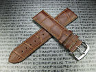22mm Leather Buckle Strap Curve Edge Thin Pad Band Vacheron Constantin VC II