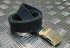 "Genuine British RAF No2 Trousers Belt 1¼"" Roll Buckle RAF Blue/Grey - NEW"