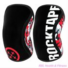 ROCKTAPE 7mm ASSASSINS Knee Sleeves Weightlifting KneeCaps Support - 2018 Styles <br/> AUTHORIZED DEALER - 15,000+ HAPPY CUSTOMERS, FAST SHIP!