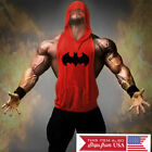 Внешний вид - Hoodie Batman Tank Stringer Golds Men Bodybuilding Gym Muscle FAST SHIPPING!!!