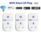 Smart Plug Wifi Socket Wireless Outlet, Remote Voice Control, Timer Alexa Google
