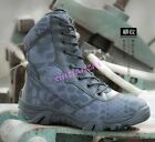 Mens Military Tactical Outdoor Army Combat Special Force Boot Shoes Camo 2017