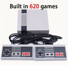 Mini Vintage Retro TV Game Console Classic 620 Built-in Games +2 Controllers