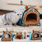 Warm Soft Pet Dog Cat Bed House Kennel Mat Pad Washable Puppy Cushion S/M/L Sale