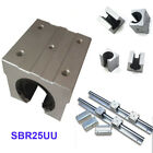 1/2 PCS SBR25UU 25mm Open Linear Bearing Slide Linear Motion for Linear Rail CNC