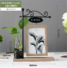 """New 6"""" Creative Picture/Photo Frame With Iron Table Home Bedroom Desk Decor Gift"""