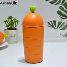 Lovely Stainless Steel carrot Vacuum Cup Thermos Bottle Flask Cup Mug Kids