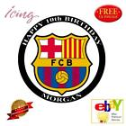 BARCELONA FC - PERSONALIZED ICING CAKE TOPPER'S VARIOUS SIZES