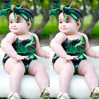 US Stock Toddler Baby Boys Girls Romper Camo Bodysuit Sunsuit Outfits Playsuit