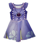 Girls Sofia The First Princess Sleeveless Dress Costume Birthday Party Dress O49