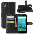For Wiko Lenny 4 Plus Leather Flip Cover Slots Wallet Stand Case Pouch 9 Colors