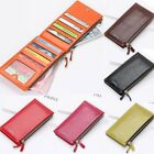US FAST Women's Leather Bifold Credit Card Holder Wallet Purse Checkbook Clutch image