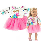 """18"""" Doll Clothes Pajames Laceskirt for American Girl Our Generation My Life Doll"""