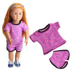 "Doll Clothes Pajames Laceskirt for 18"" American Girl Our Generation My Life Doll"
