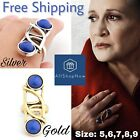 Star Wars Ring The Last Jedi Princess Leia Ring Blue With Gift Box $16.39 CAD