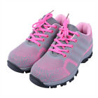 MT8 Women's Safety Shoes Steel Toe Cap Breathable Work Trainers Hiking Sneakers