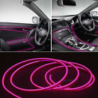1/2/3M Car Interior Atmosphere Glow EL Wire LED Strip Light Flexible Neon Rope