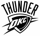Oklahoma City Thunder NBA Team Logo Decal Stickers Basketball on eBay