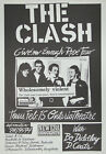 THE CLASH Concert Poster - Giclee Reproduction Wall Art