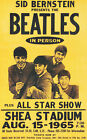 THE BEATLES (SHEA) Concert Poster - Giclee Full Colour Reproduction Wall Art