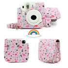 For Fujifilm Instax Mini 8 / Mini 9 Film Instant Camera Carrying Case Bag Cover <br/> ✔With Shoulder Strap ✔20+ Pattern ✔Fit Perfectly