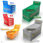 Small 5 Colours Rizzla Genuine Cigarette Rolling Papers Original 1-50 Booklets