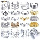 Metal Snap Charms Bangle Bracelet Multi Styles Fit 12/18mm Snap Button Jewelry image