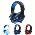 New 3.5mm Gaming Headset Mic LED Headphones Stereo Surround for PS4 Xbox ONE 360