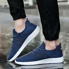 New Fashion Men's Casual Shoes Breathable Running Sports shoes Lace Up Mesh new