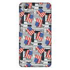 USA Flags HARD Protector Case Snap On Slim Phone Cover Accessory