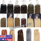 Premium Grade7A Micro Ring/Micro Loop Beads Tip 100% Remy Human Hair Extensions