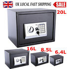 6.4-20L Digital Steel Safe Electronic Security Office Home Money Cash Safety Box