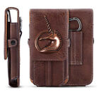 3D Unicorn PU Leather Pouch Belt Clip Hook Loop Phone Case Cover Bag Holster