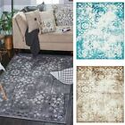 Faded Rugs Living Room Carpets Flooring Rug Vintage Style Home Decor Carpet