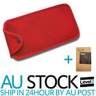Soft Protective Carry Case Cover Pouch for Nintendo Switch Console red black au