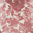 Harlequin Cream & Red Wallpaper Roll - Patterned Floral Design - Colour: 25654